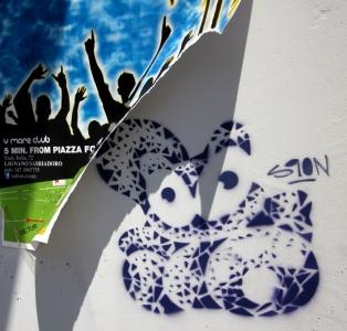 sion-katze graffiti