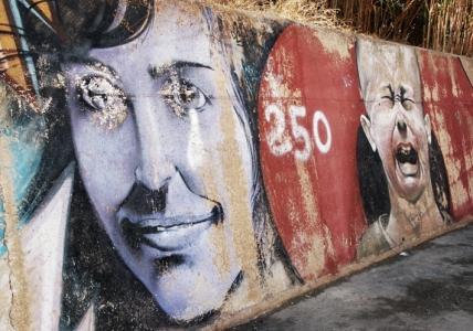 mallorca street art in kanal