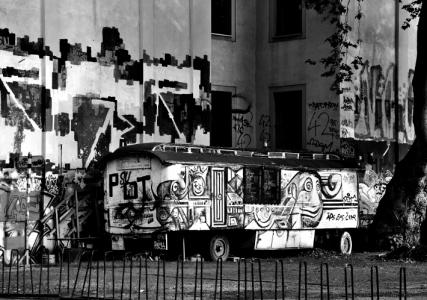 graffiti-wagen