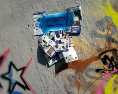 street art schablone