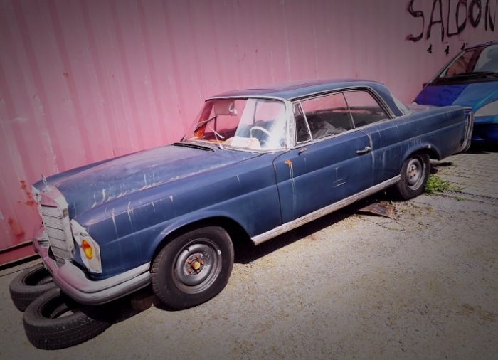 mercedes w111 coupe vintage